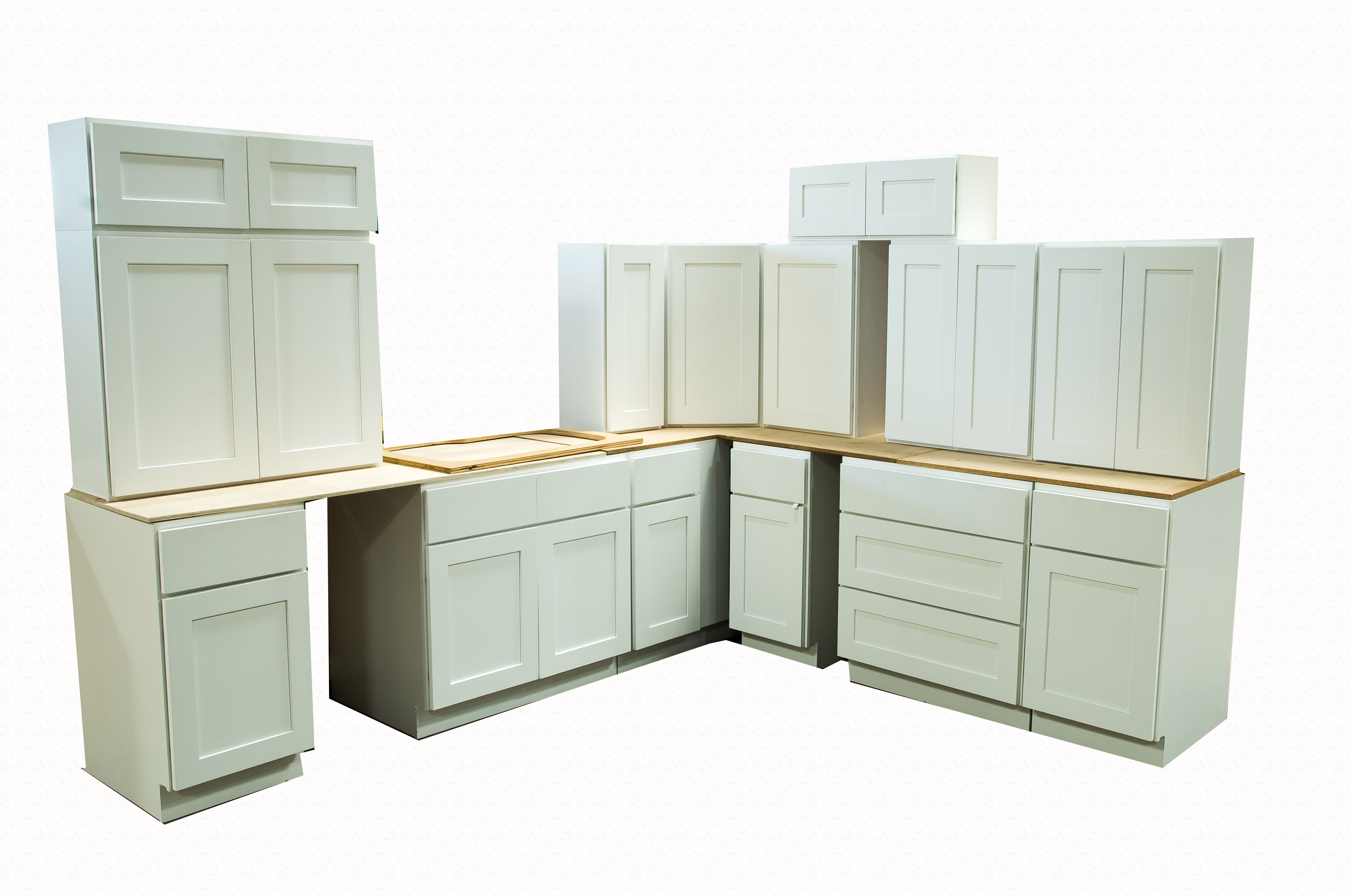 cabinetoutlet kitchen cabinet outlet SHAKER WHITE DISPLAY SALE TAX